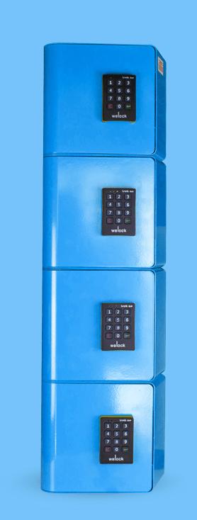 La borne de rechargement pour smartphones Best-Seller de Welock