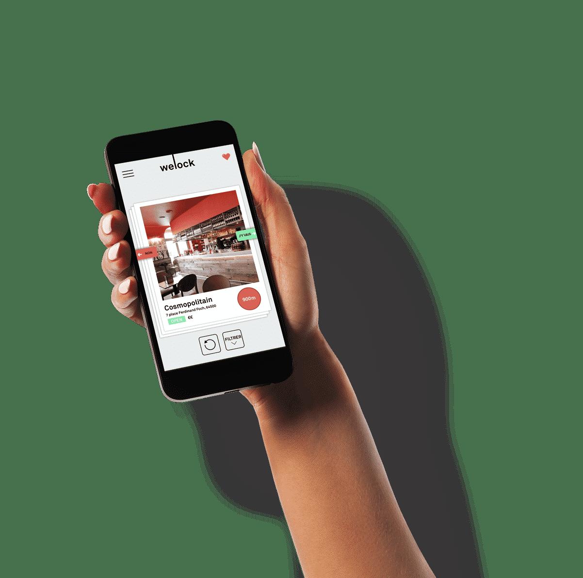 Le Tinder des bornes de recharge pour téléphones portables welock