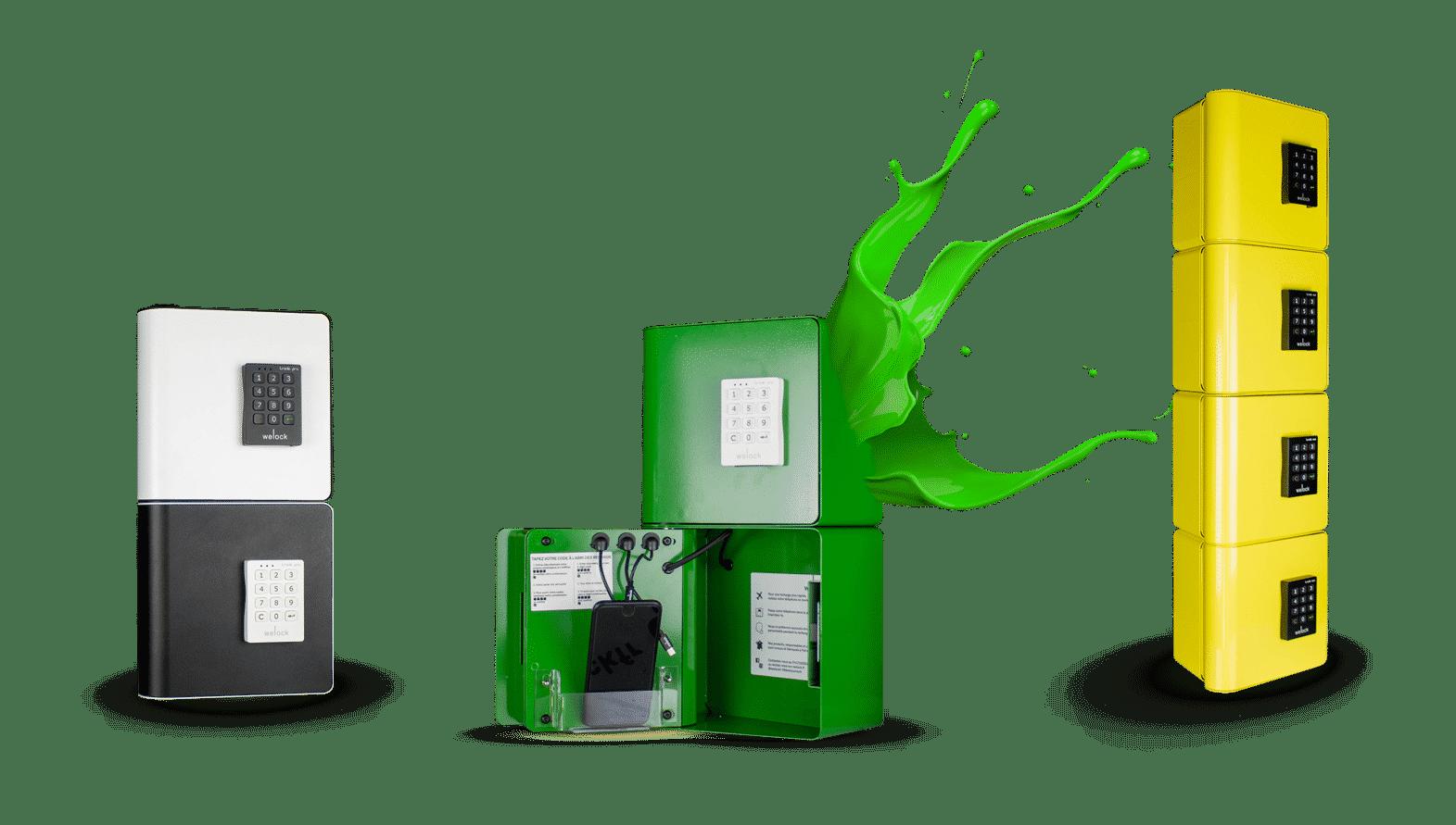 Station de recharge pour téléphones portables - Welock