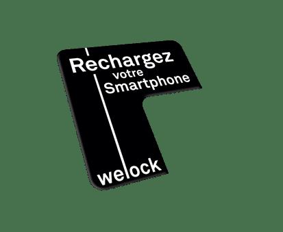 Welock vous fournit des PLV avec votre station