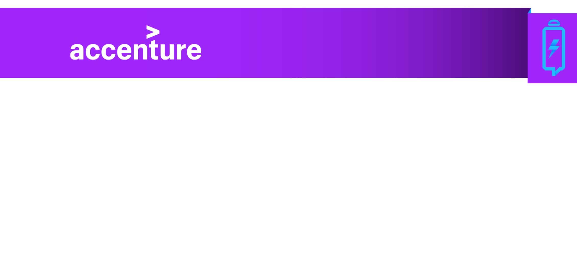 Accenture recharge les téléphones de ses employés !